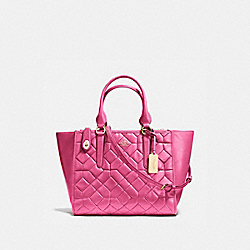 CROSBY CARRYALL IN CANYON QUILT LEATHER - LIDUL - COACH 37486