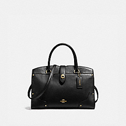 MERCER SATCHEL 30 - LI/BLACK - COACH 37575