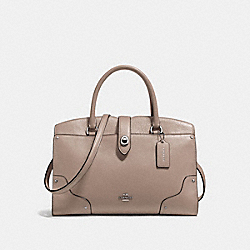 MERCER SATCHEL 30 - SV/STONE - COACH 37575