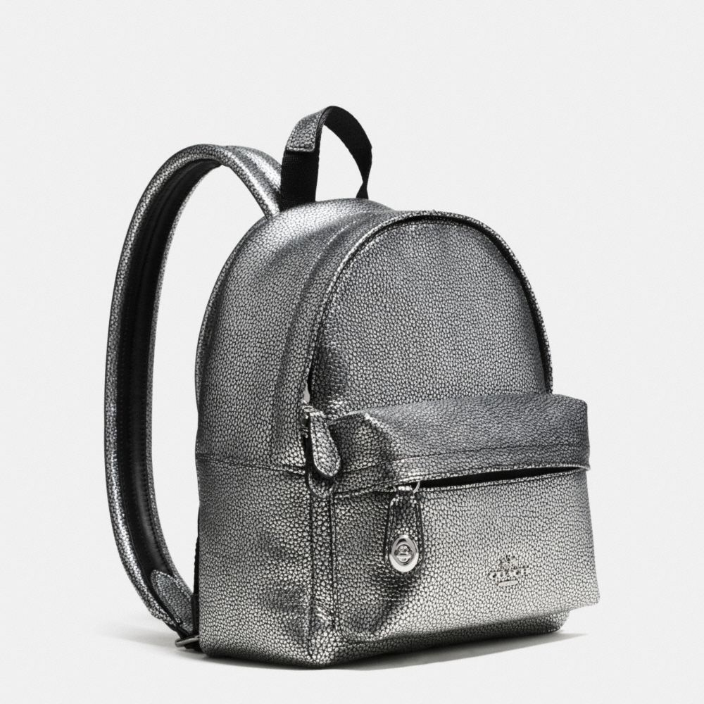 Mini Campus Backpack in Pebble Leather - Alternate View A2
