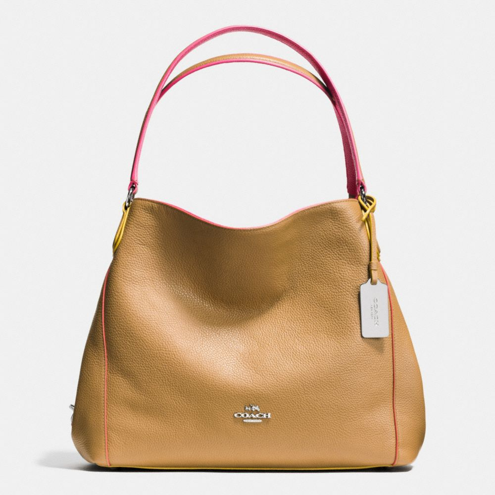 discount coach purses outlet ke9t  EDIE SHOULDER BAG 31 IN EDGESTAIN LEATHER