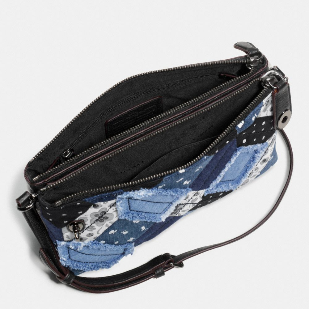 Crosby Crossbody in Canyon Quilt Denim - Alternate View A1