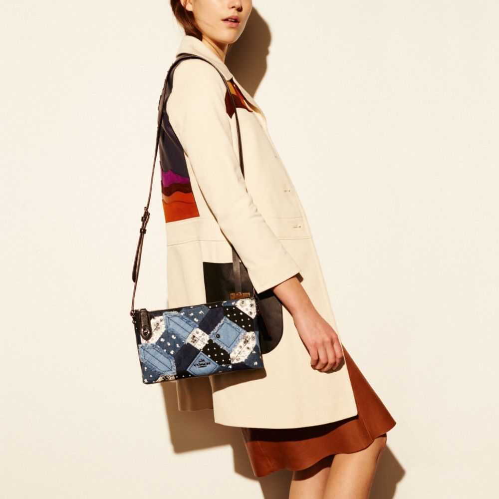 CROSBY CROSSBODY IN CANYON QUILT DENIM - Alternate View A2