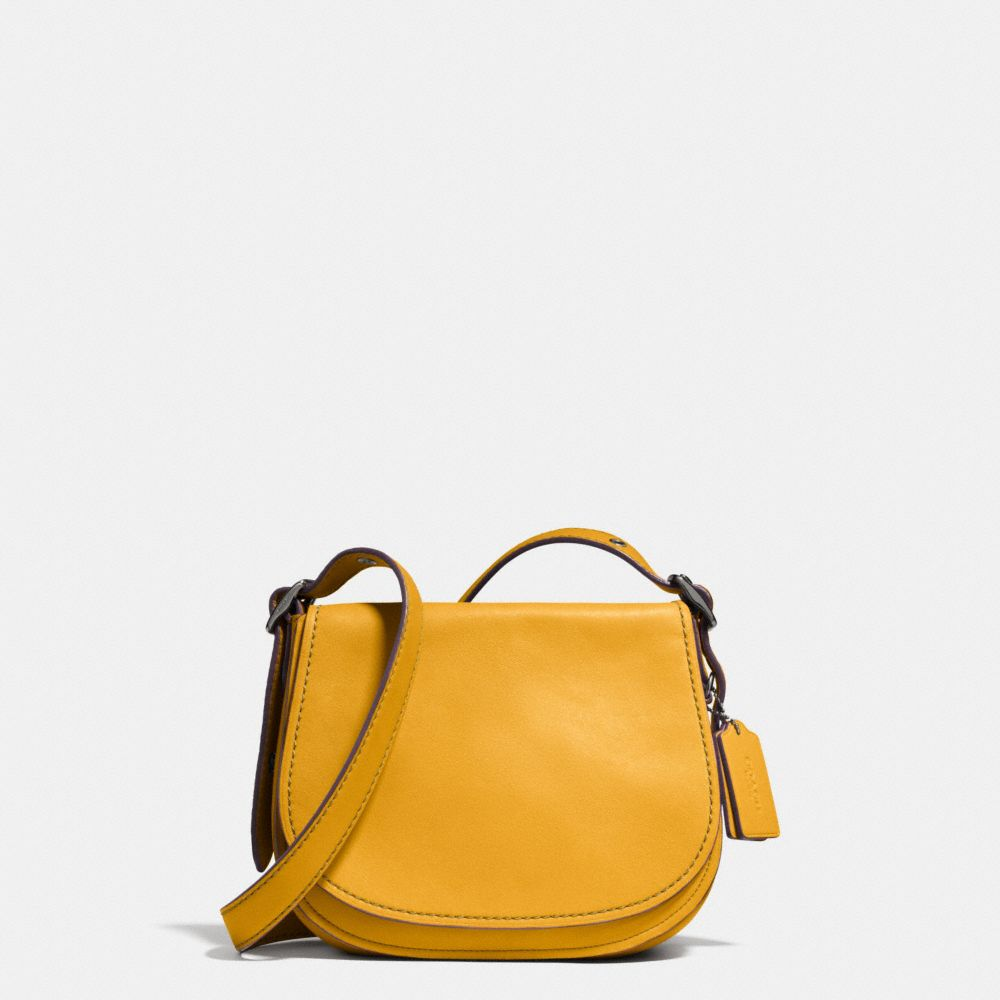 Coach Saddle Bag 23 With Personalized Storypatch