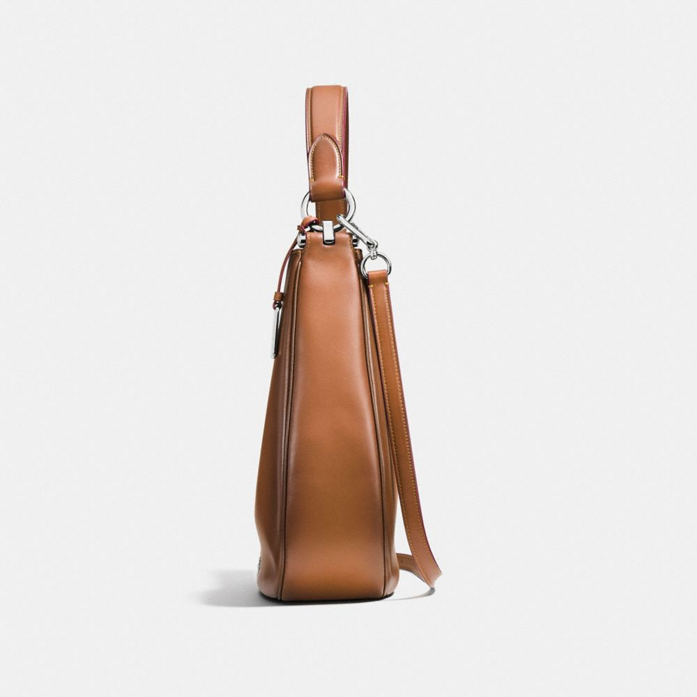 Coach Coach Nomad Hobo in Burnished Glovetanned Leather Alternate View 1