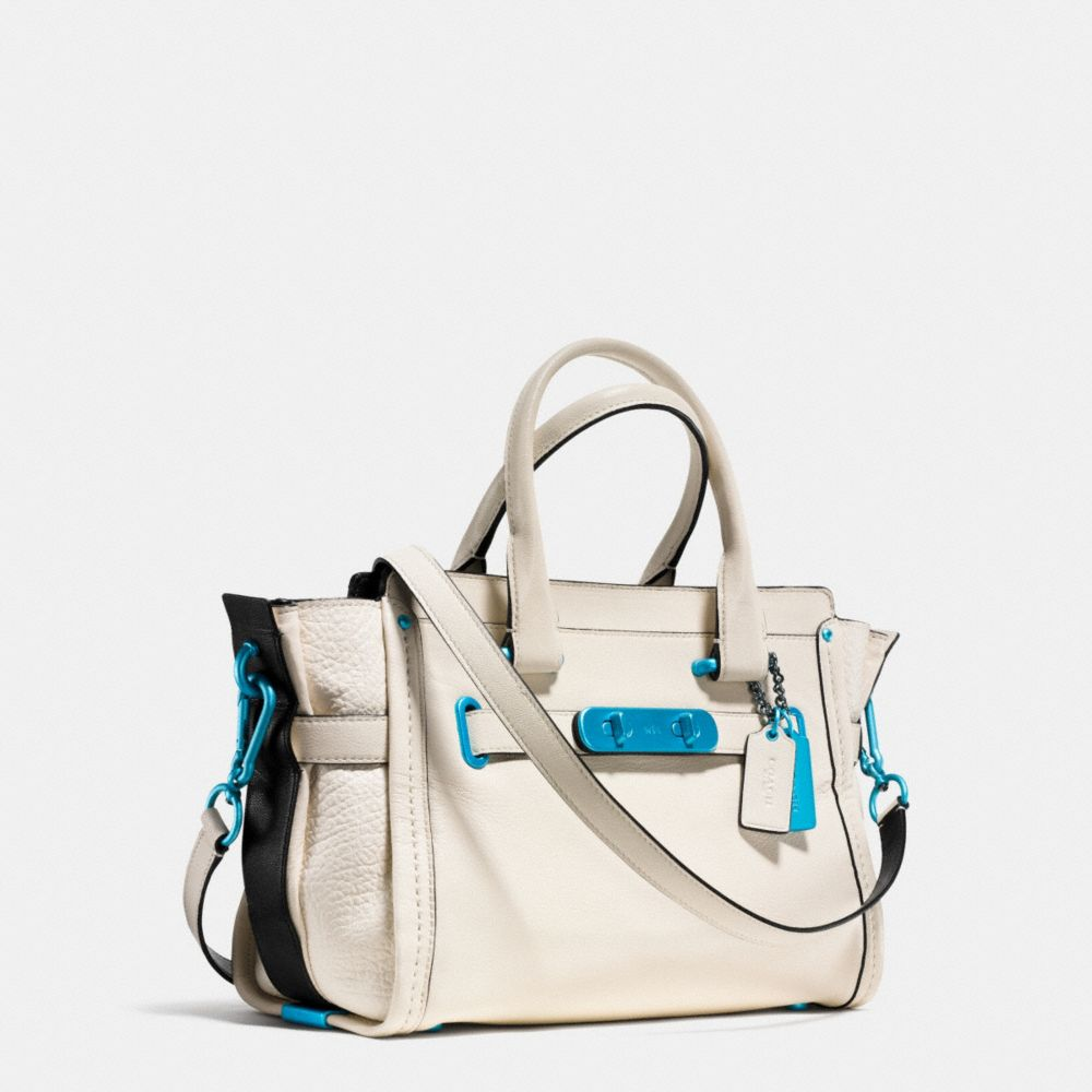 Coach Soft Swagger 27 With Carabiner Hardware in Grain Leather - Alternate View A2