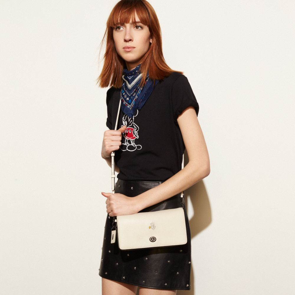 MICKEY DINKY CROSSBODY IN GLOVETANNED LEATHER - Alternate View