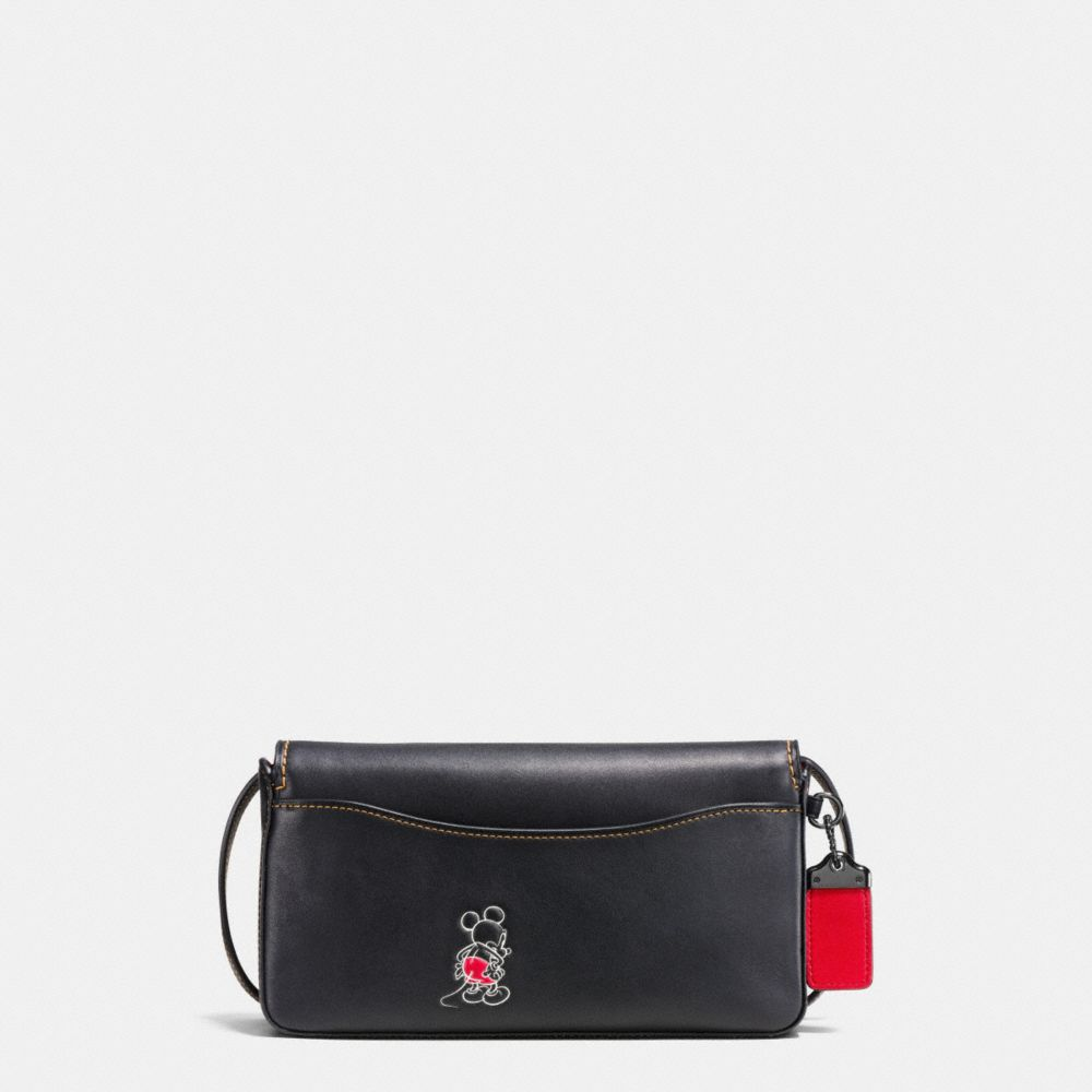 Mickey Dinky Crossbody in Glovetanned Leather - Alternate View A2