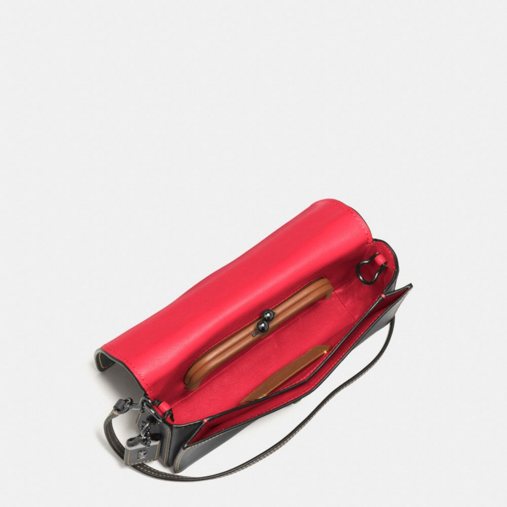 Mickey Dinky Crossbody in Glovetanned Leather - Alternate View A4