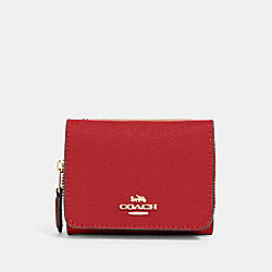 SMALL TRIFOLD WALLET - IM/1941 RED - COACH 37968