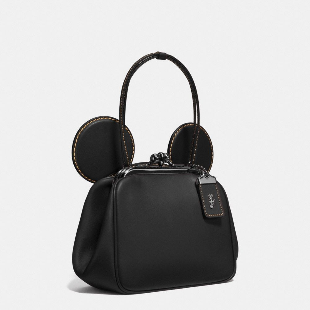 Mickey Kisslock Bag in Glovetanned Leather - Alternate View A3
