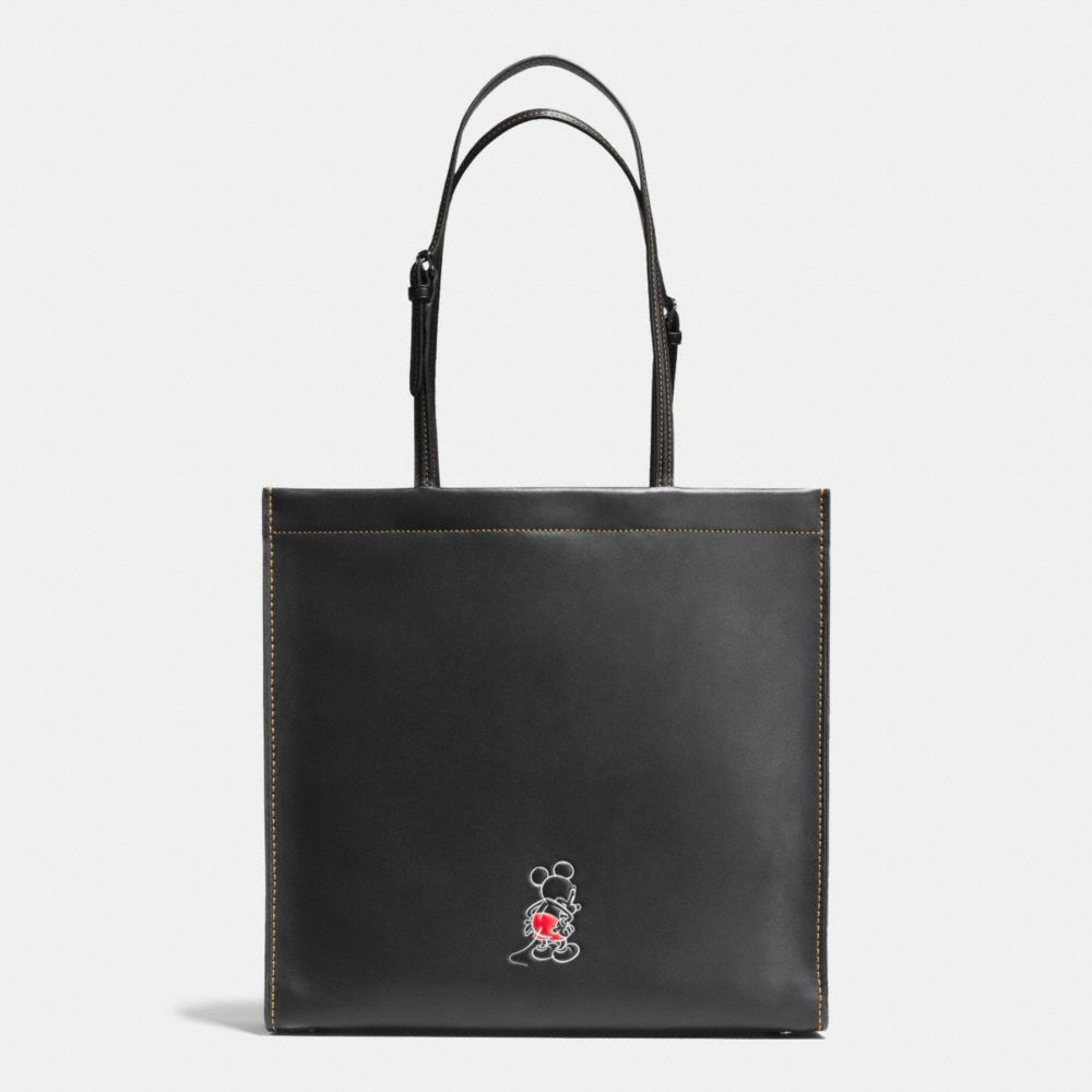 MICKEY SKINNY TOTE IN GLOVETANNED LEATHER - Alternate View A2