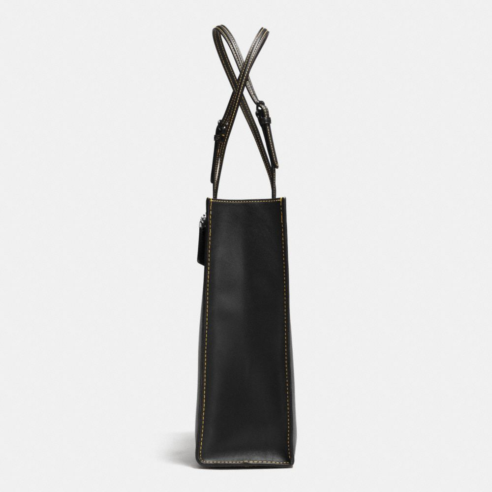 Mickey Skinny Tote in Glovetanned Leather - Alternate View A3