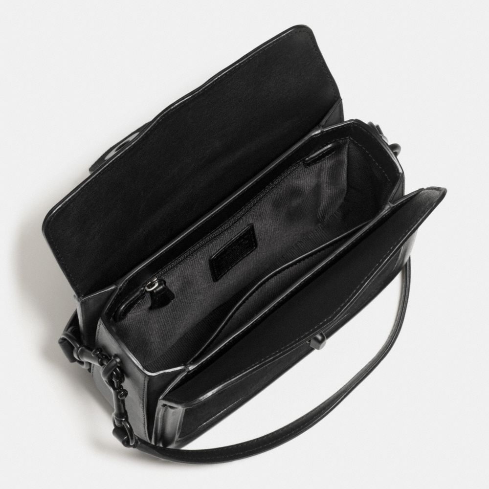 PAGE CROSSBODY IN MIXED LEATHER - Alternate View