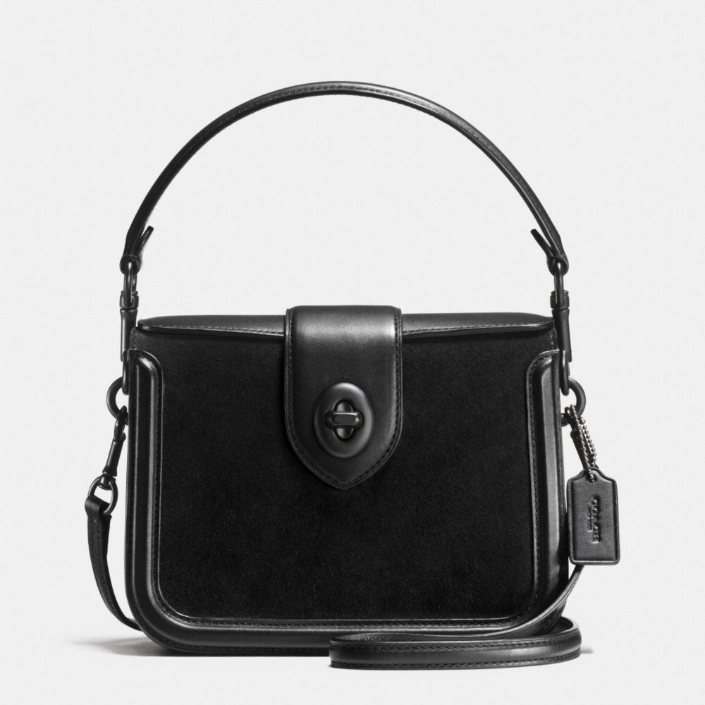 PAGE CROSSBODY IN MIXED LEATHER