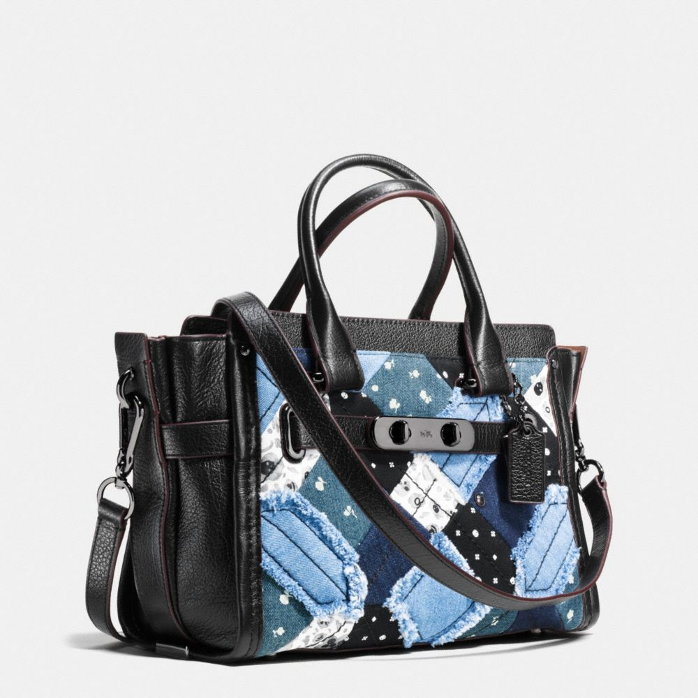 Coach Swagger 27 in Canyon Quilt Denim - Alternate View A2