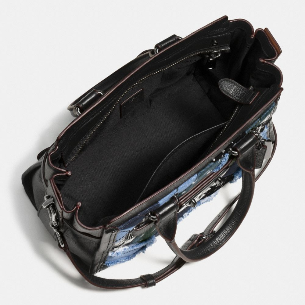 Coach Swagger 27 in Canyon Quilt Denim - Alternate View A3
