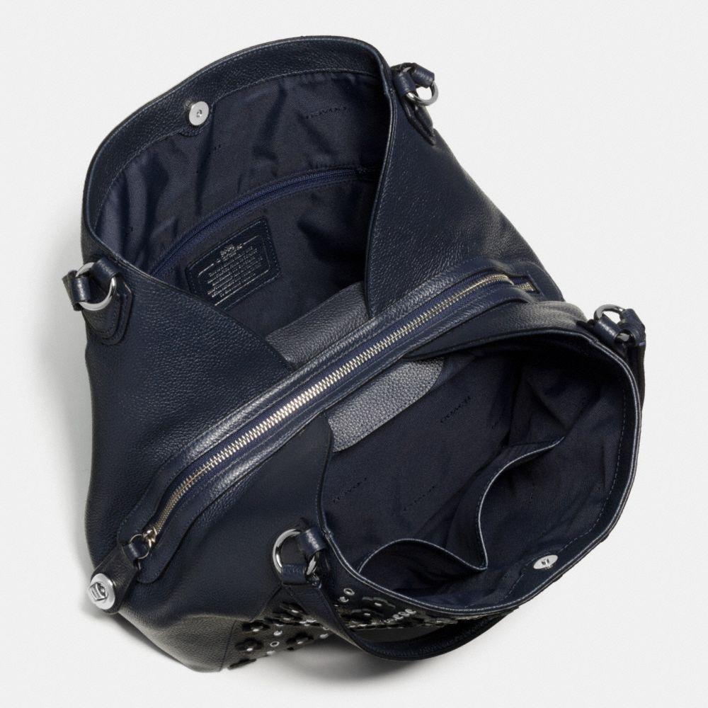 Edie Shoulder Bag 31 in Floral Rivets Leather - Alternate View A3
