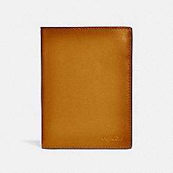 PASSPORT CASE - AMBER - COACH 38080