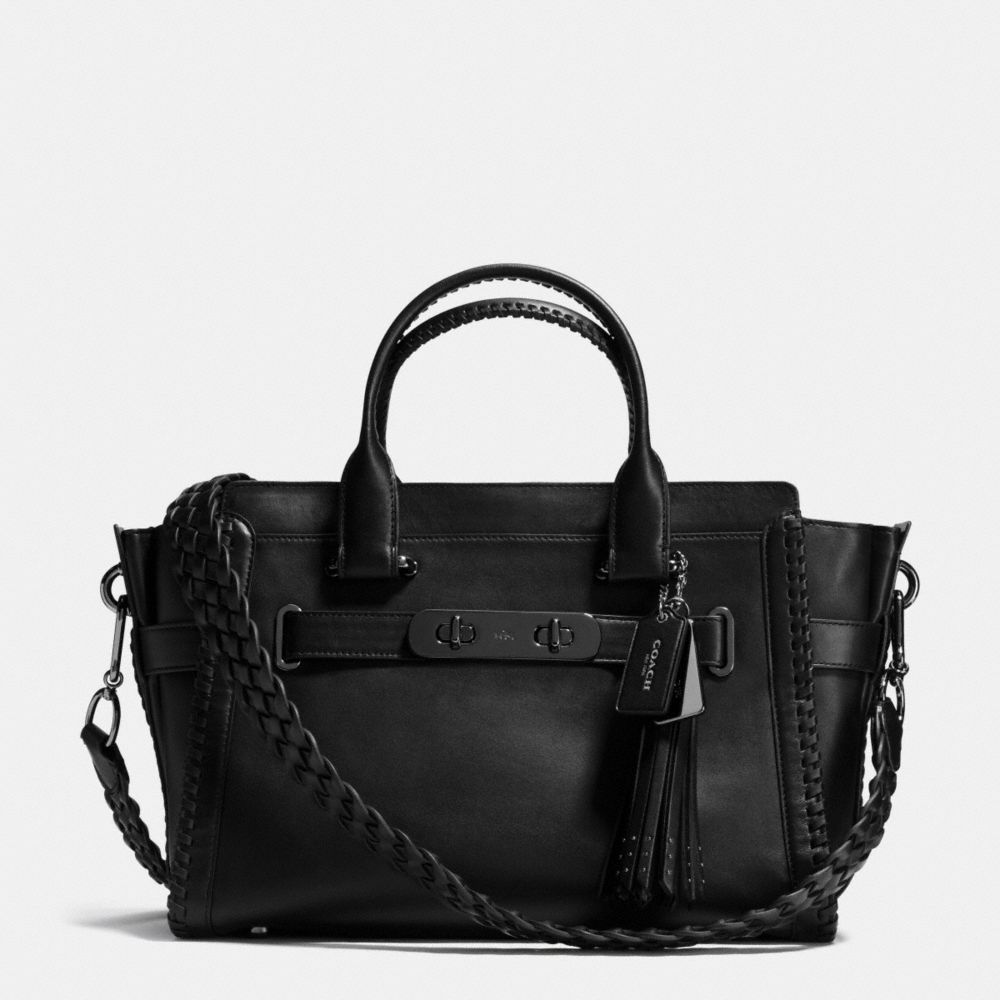 RIP AND REPAIR COACH SWAGGER CARRYALL IN GLOVETANNED LEATHER - Alternate View