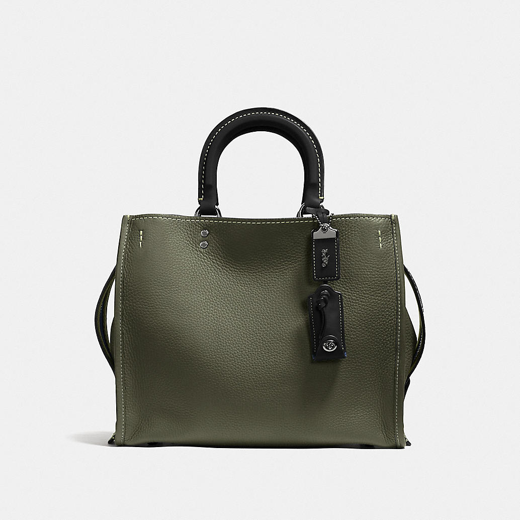 COACH Designer Purses | Rogue Bag In Glovetanned Pebble Leather