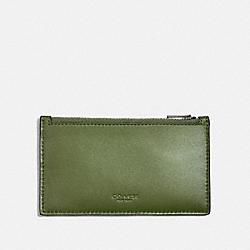 ZIP CARD CASE - GLADE - COACH 38144