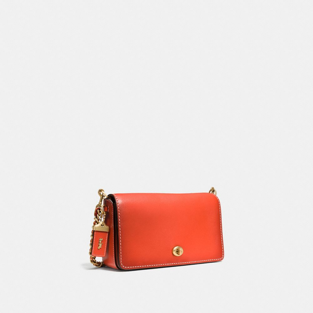 Dinky Crossbody in Burnished Glovetanned Leather - Alternate View A2