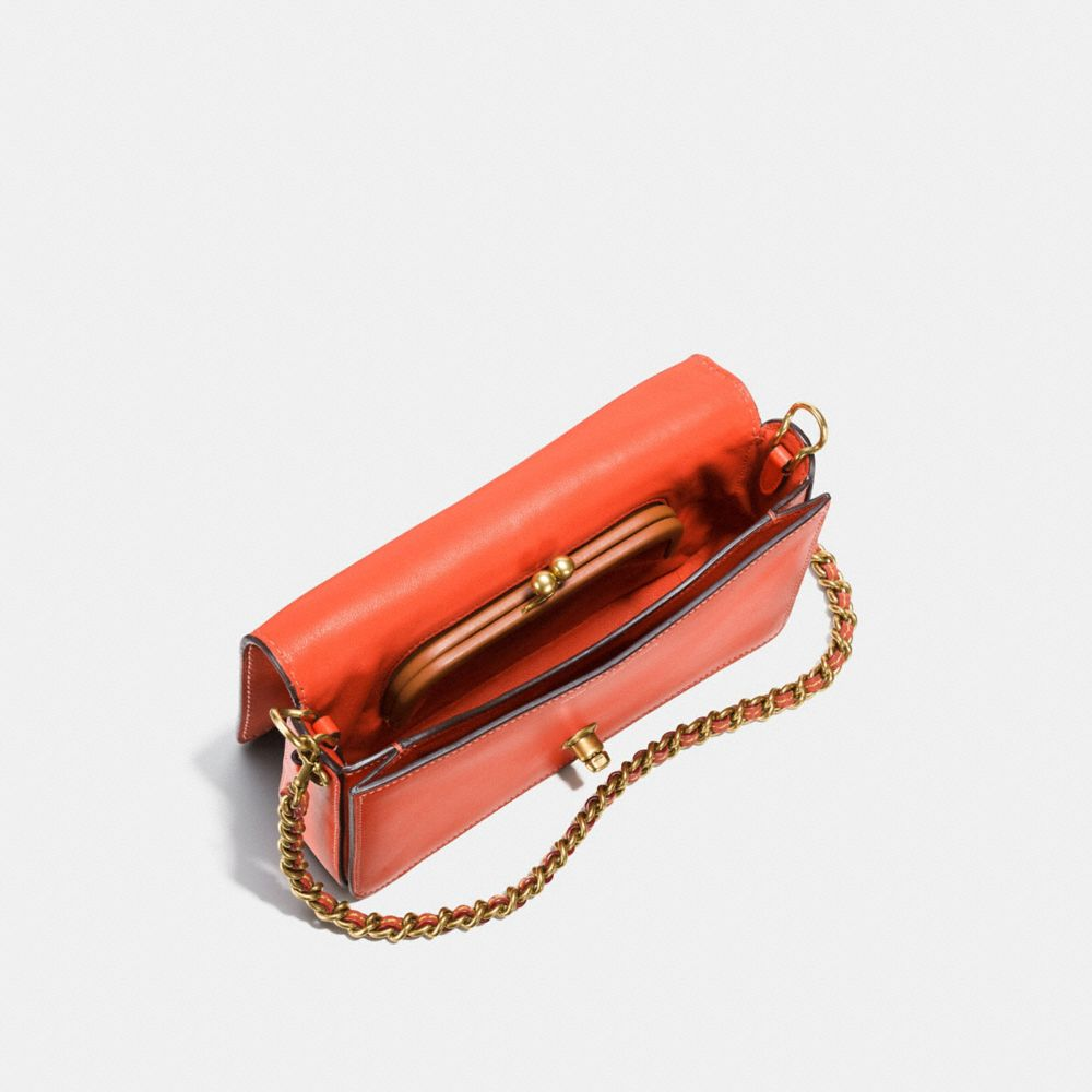 Dinky Crossbody in Burnished Glovetanned Leather - Alternate View A3