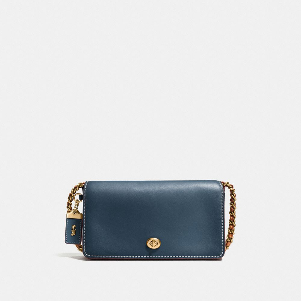 DINKY IN BURNISHED GLOVETANNED LEATHER