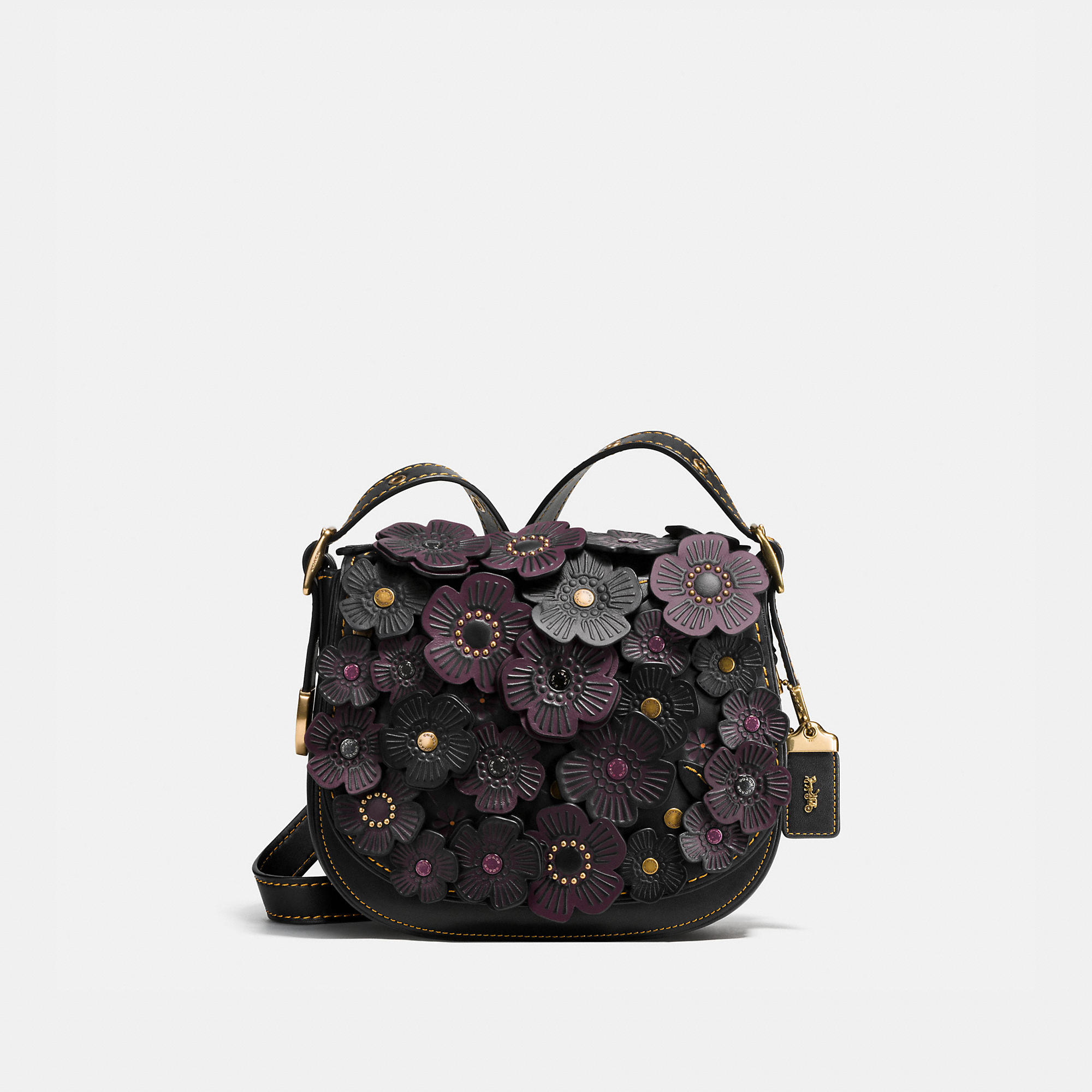Coach 1941 Saddle 23 In Glovetanned Leather With Tea Rose