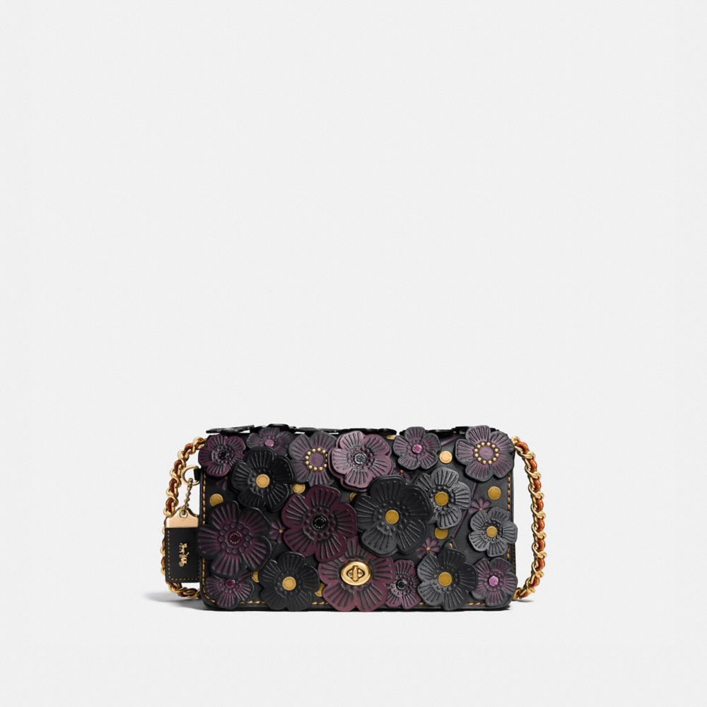 DINKY IN GLOVETANNED LEATHER WITH TEA ROSE