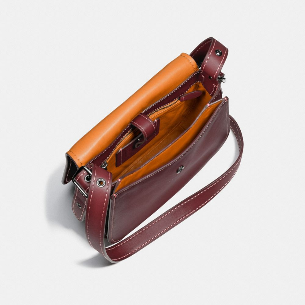 Saddle Bag 23 in Burnished Glovetanned Leather - Alternate View A3