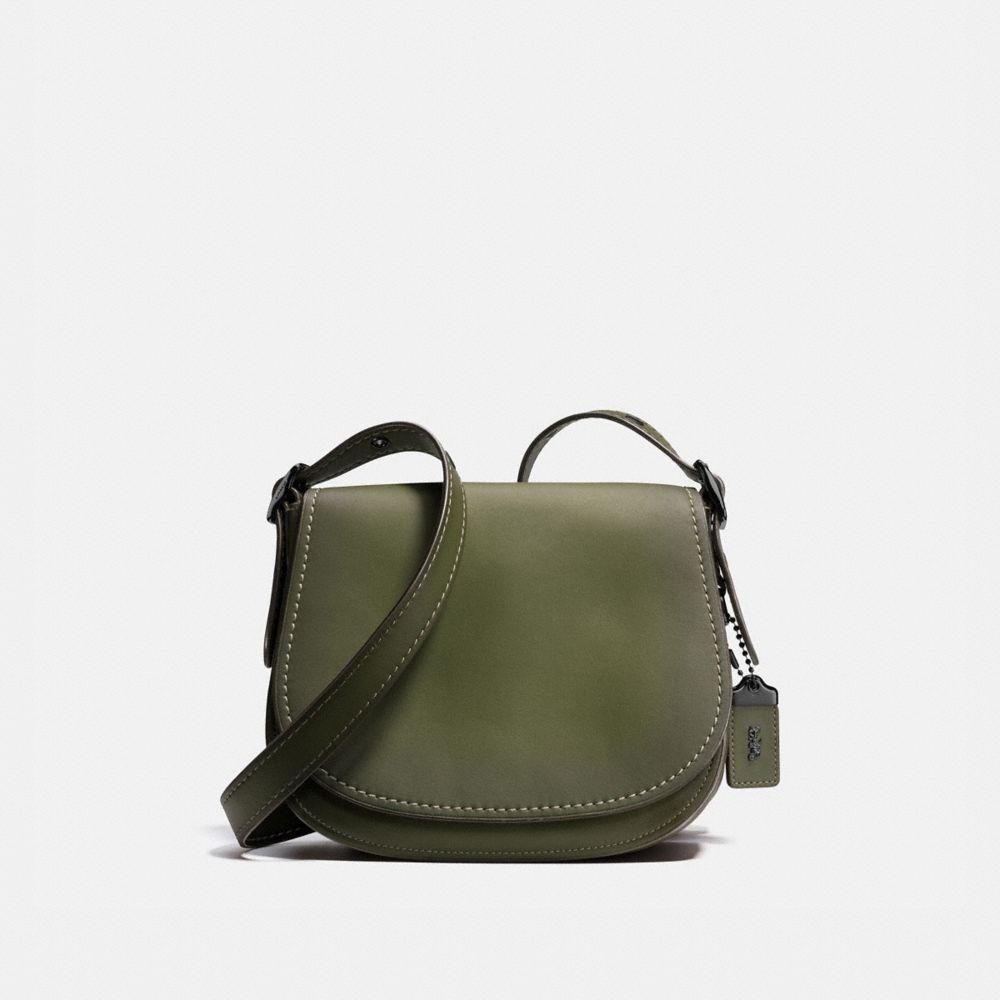 Saddle Bag 23 in Burnished Glovetanned Leather