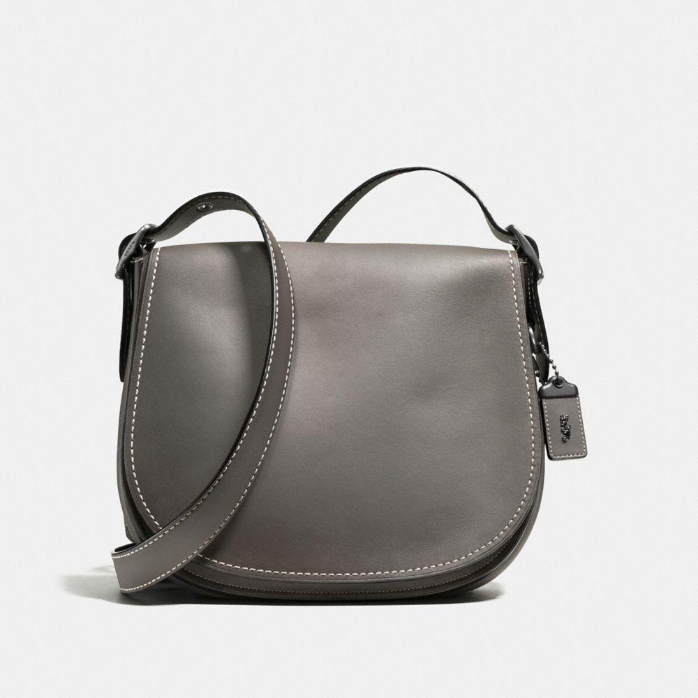 Saddle Bag in Burnished Glovetanned Leather