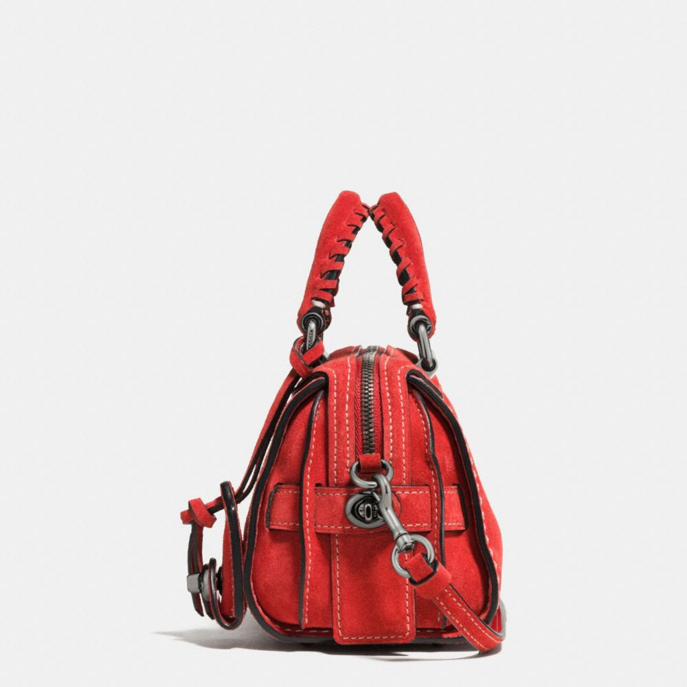 Ace Satchel 14 in Suede - Alternate View A1