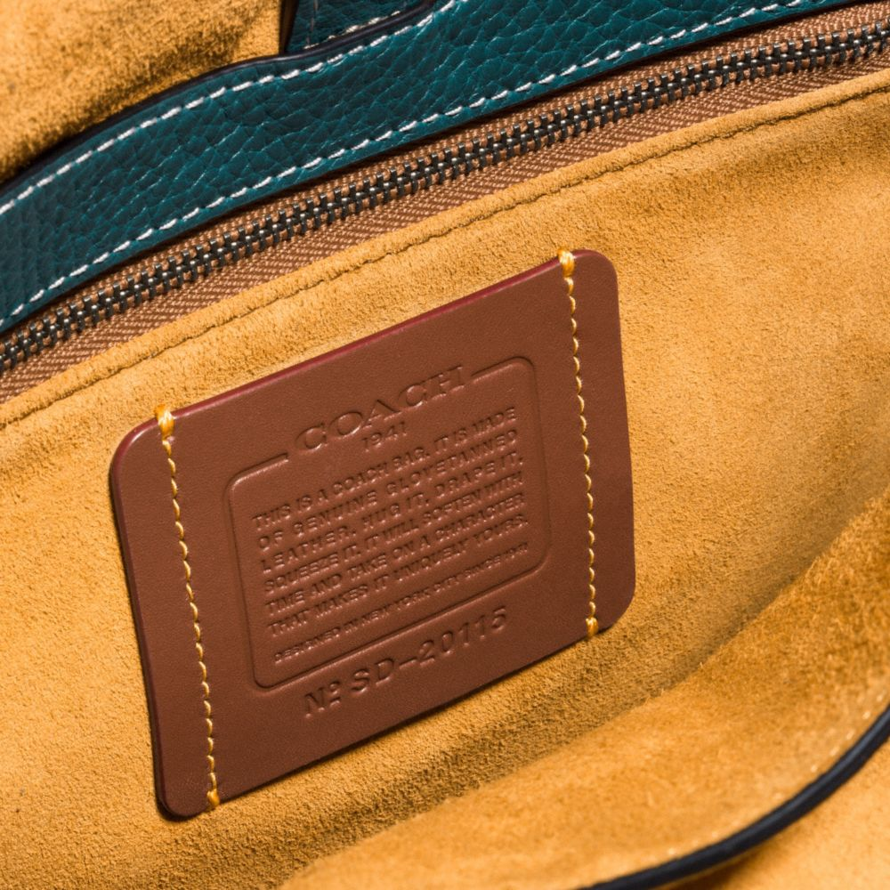 WHIPLASH SADDLE BAG IN LEATHER - Alternate View A1
