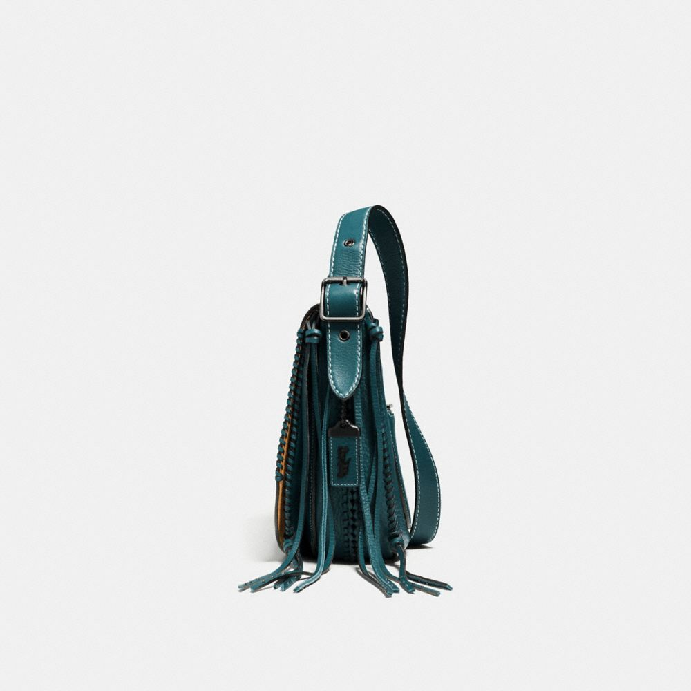Whiplash Saddle Bag in Leather - Alternate View A2