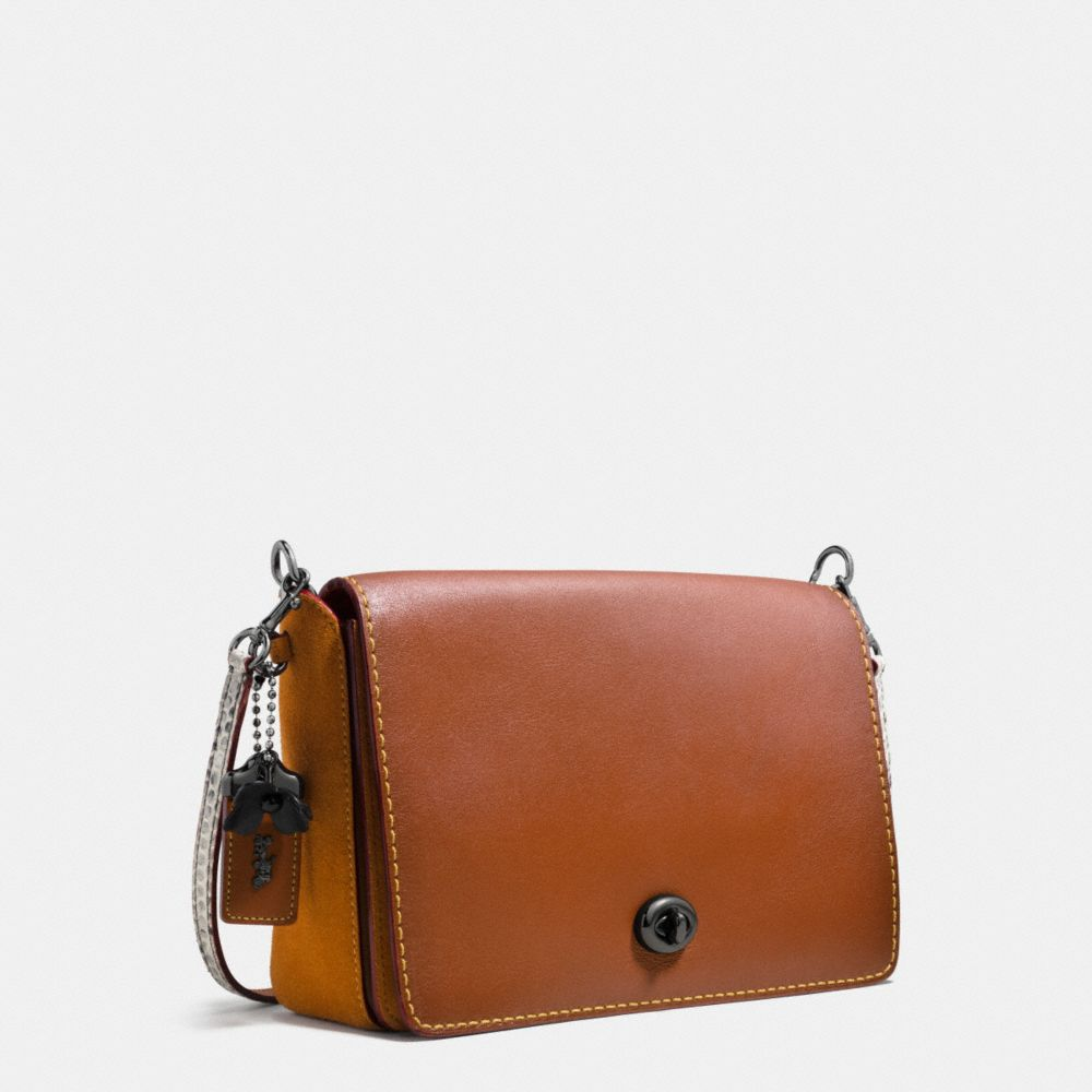 DINKY CROSSBODY 24 IN COLORBLOCK PYTHON - Alternate View A2