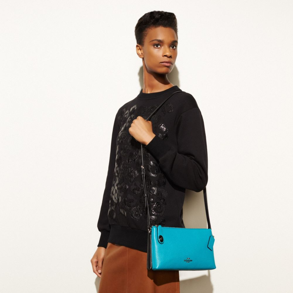 Crosby Crossbody in Colorblock Leather - Alternate View A2