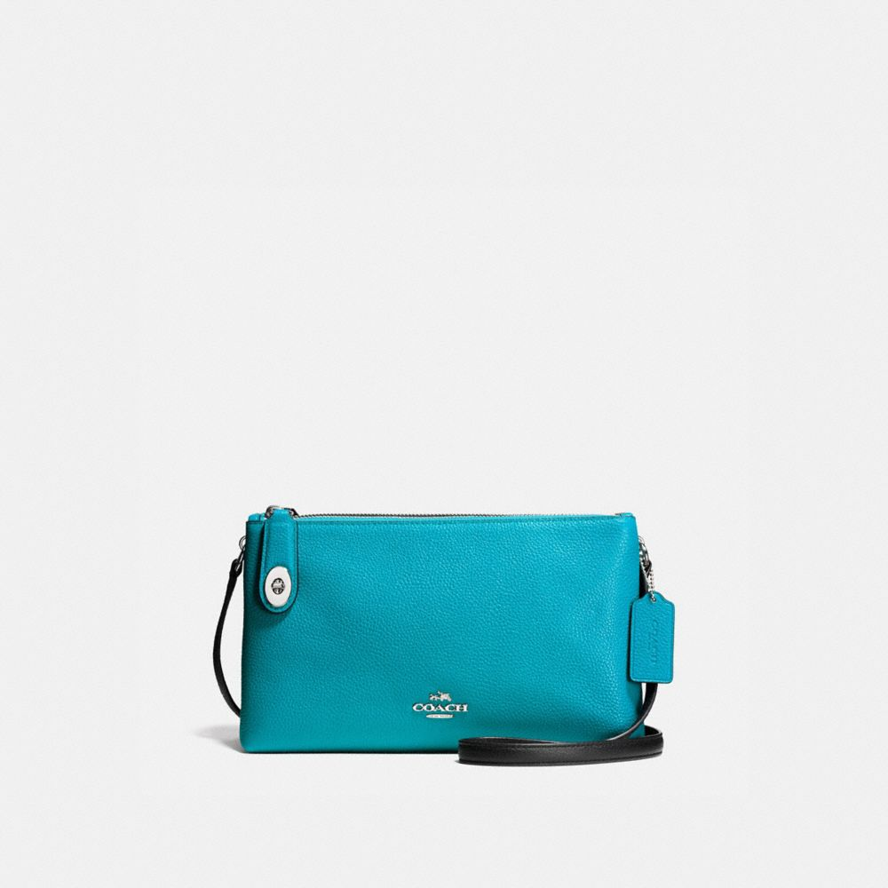 CROSBY CROSSBODY IN COLORBLOCK LEATHER