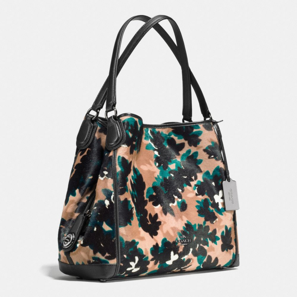 Edie Shoulder Bag 31 in Printed Haircalf - Alternate View A2