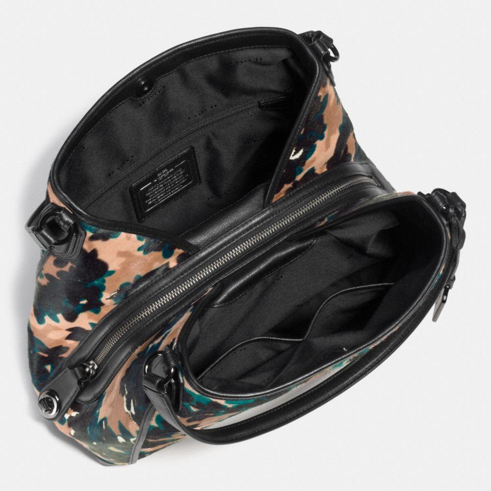EDIE SHOULDER BAG 31 IN PRINTED HAIRCALF - Alternate View