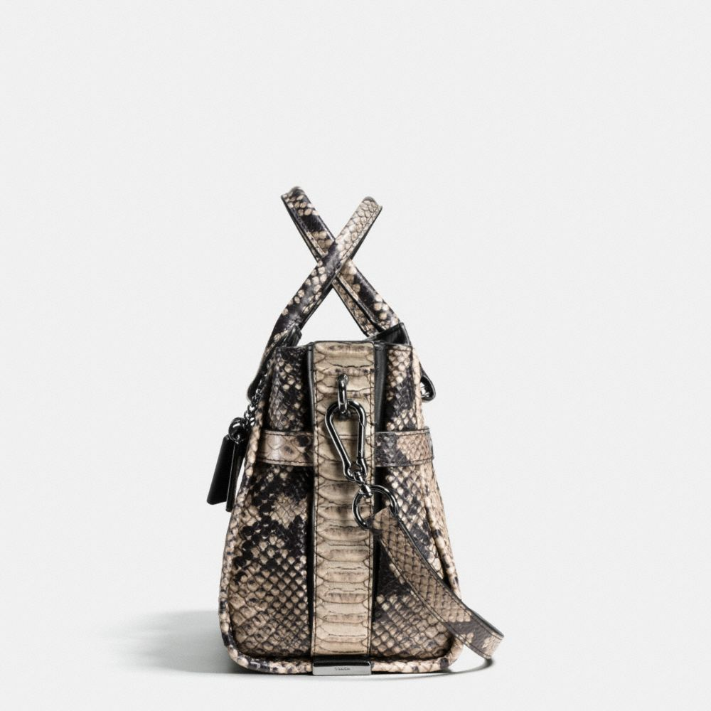 Coach Swagger 27 Carryall in Snake-Embossed Leather - Alternate View A1