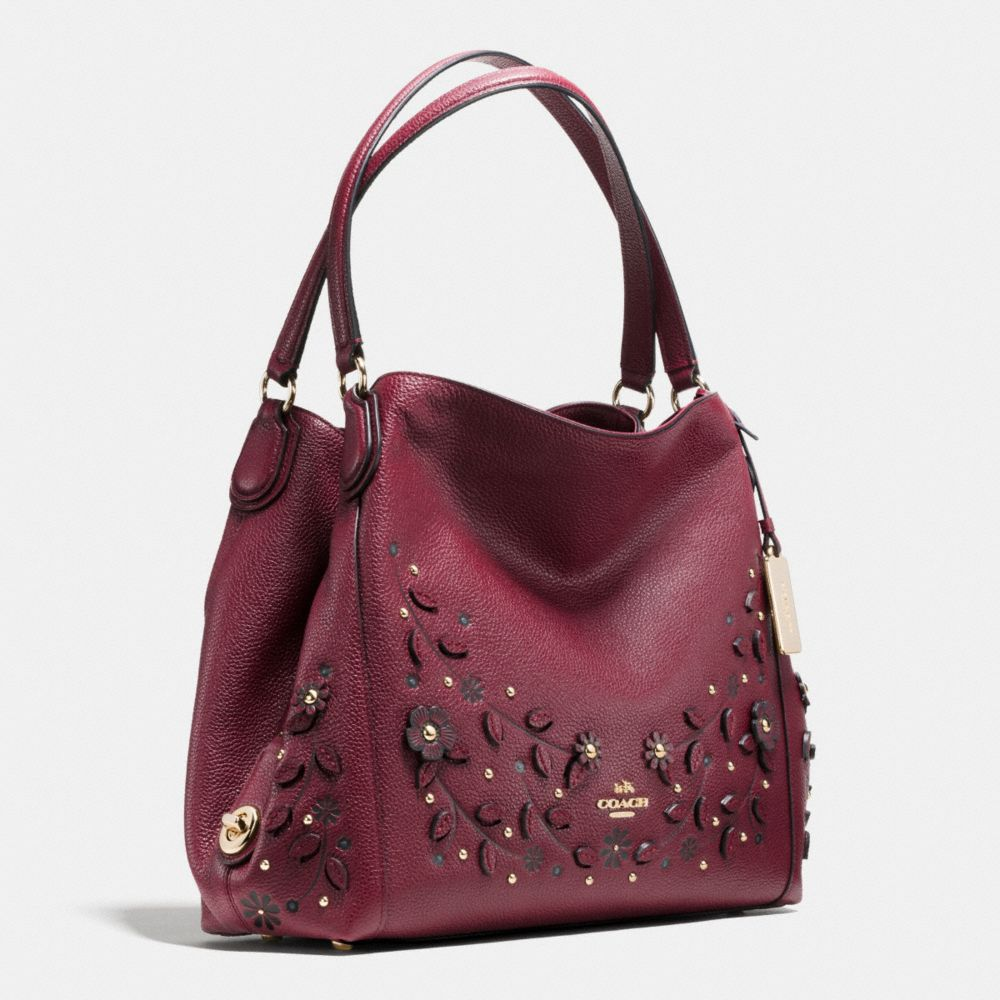 Willow Floral Edie Shoulder Bag 31 in Pebble Leather - Alternate View A2