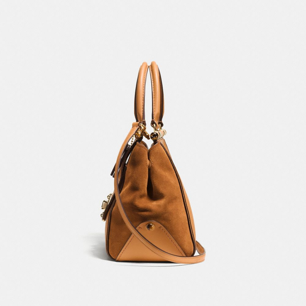 DRIFTER CARRYALL IN MIXED LEATHER - Alternate View A1