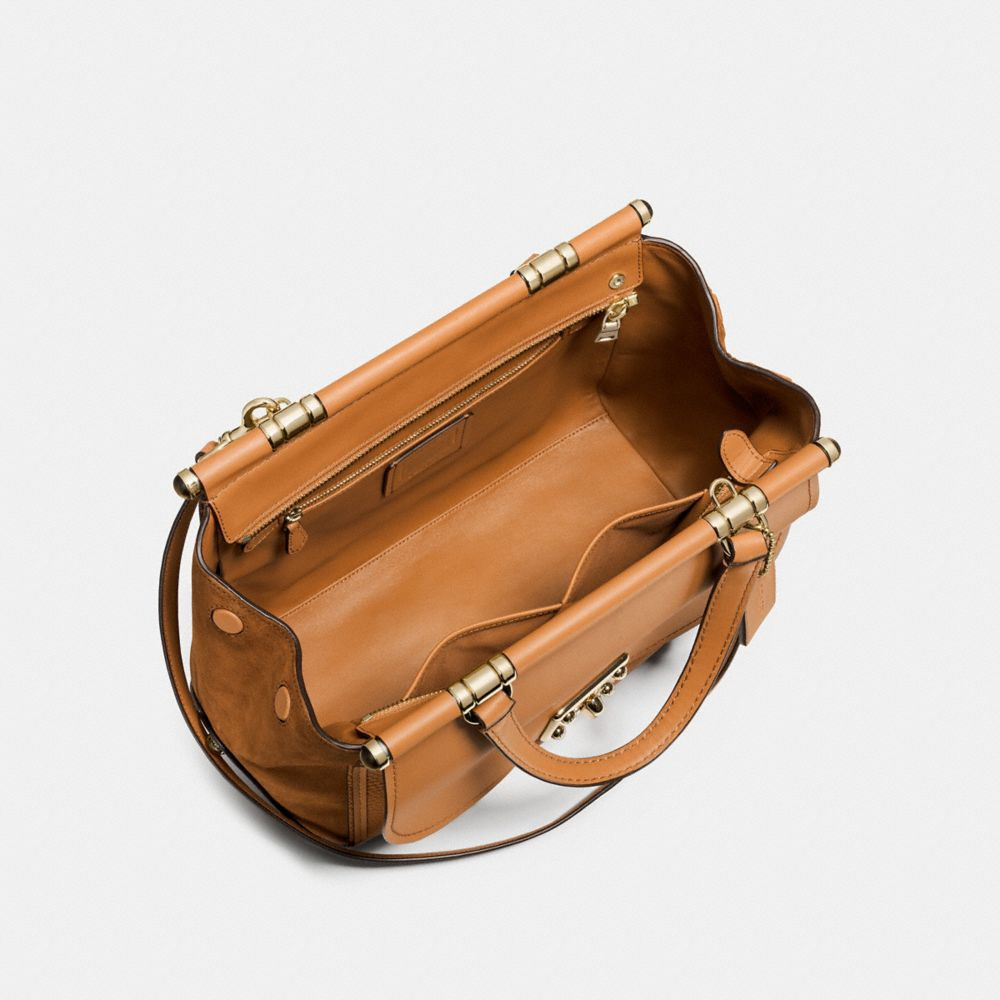 Drifter Carryall in Mixed Leathers - Alternate View A2