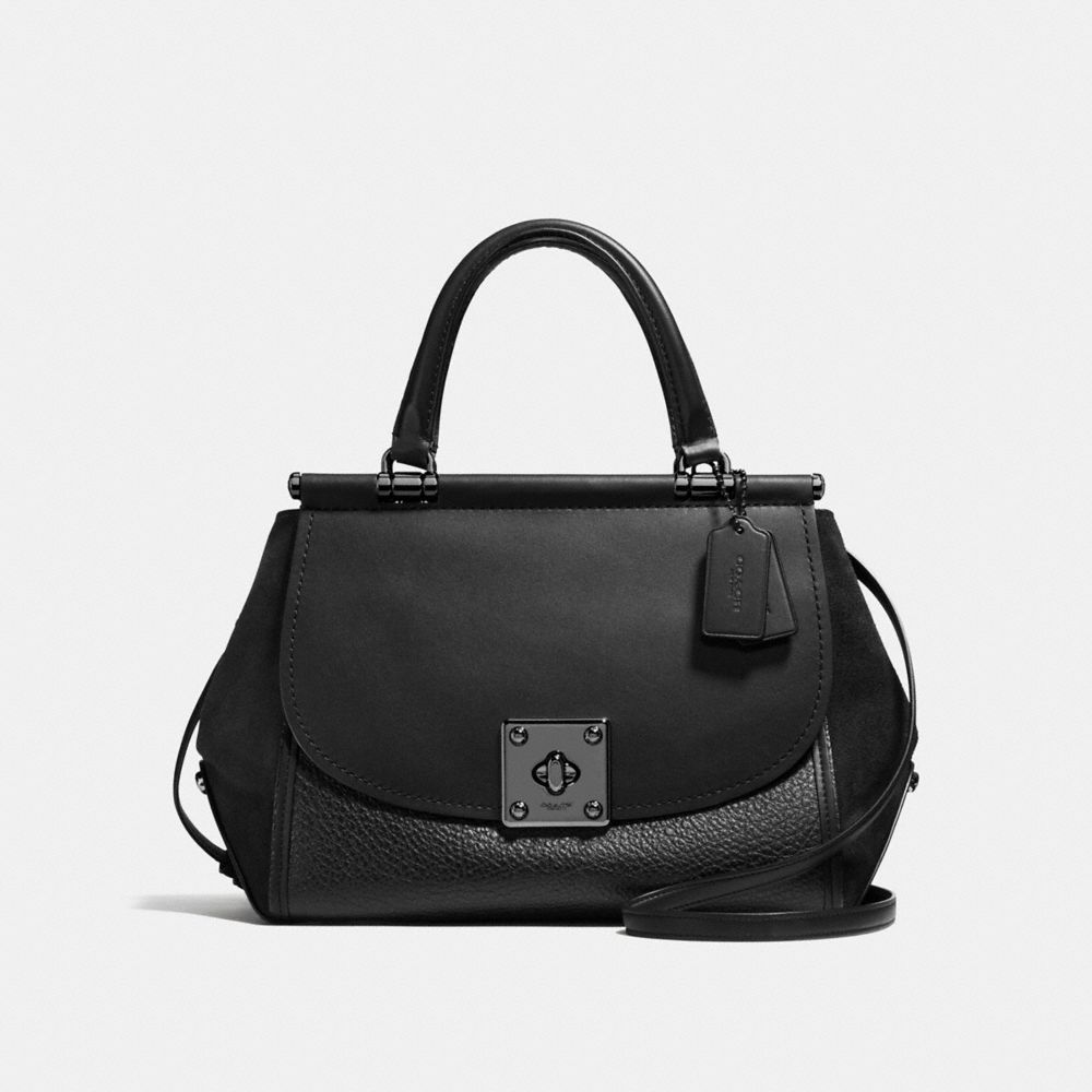 DRIFTER CARRYALL IN MIXED LEATHERS