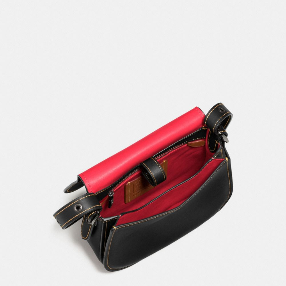 Mickey Saddle Bag 23 in Glovetanned Leather - Alternate View A4