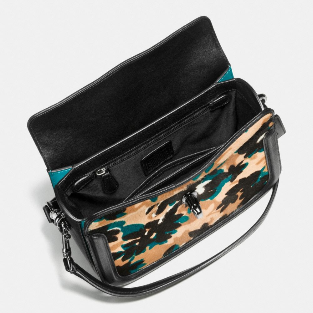 Coach Page Crossbody in Printed Haircalf Alternate View 1