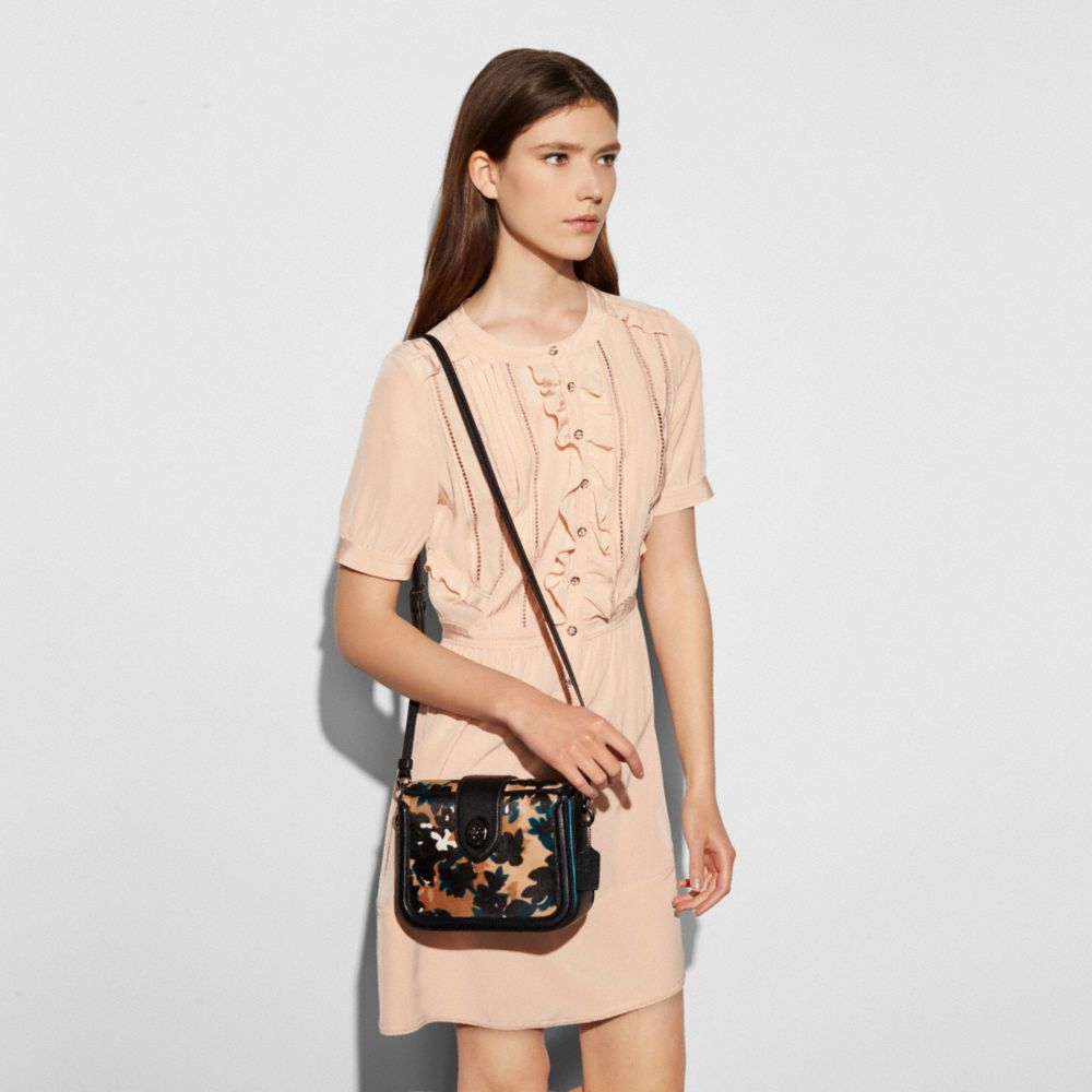 Coach Page Crossbody in Printed Haircalf Alternate View 2